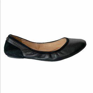 Cole Haan Black Leather Ballet Flats 8.5